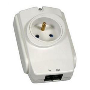 Zásuvková přepěťová ochrana pro el.spotřebiče do max. příkonu 2300W