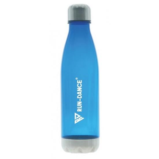 Sportovní lahev RUN-DANCE královská modrá, průsvitná