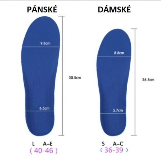 Dámská PUR / GELOVÁ stélka do sportovní obuvi