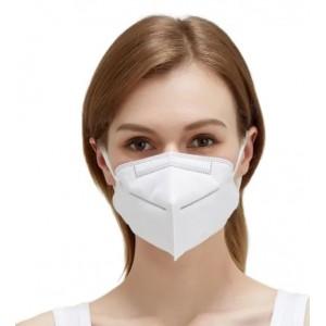 Obličejová šestivrstvá maska s filtry s aktivním uhlím N95