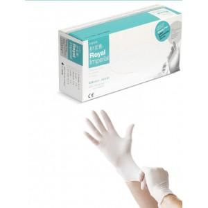 Medical jednorázové latexové rukavice  velikost L