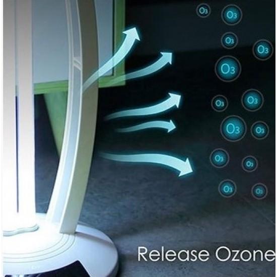 Dezinfekční antibakteriální UV lampa  IQ-OSL germicidal lamp s generátorem ozónu  white (bílá)