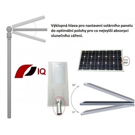 Solární svítidlo IQ-ISSL 15 POWER plus + doprava zdarma